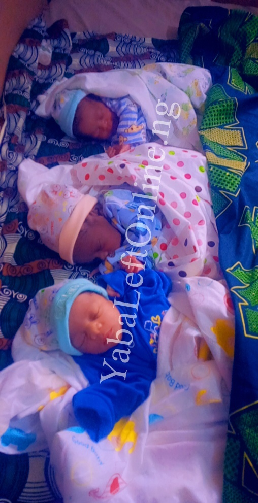 50-Year-Old Woman Gives Birth to Triplets After 30 Years Of Waiting (Pics)